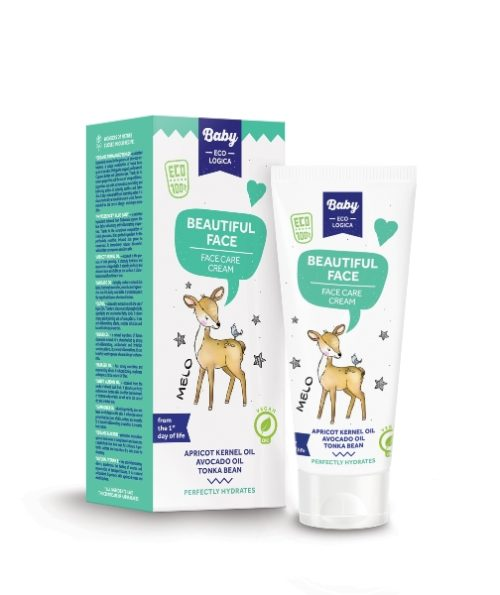 MELO - Crema Protettiva Viso - Baby Ecologica - 50ml