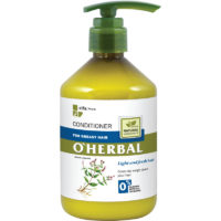 Balsamo per Capelli Grassi - O'Herbal - 500ml