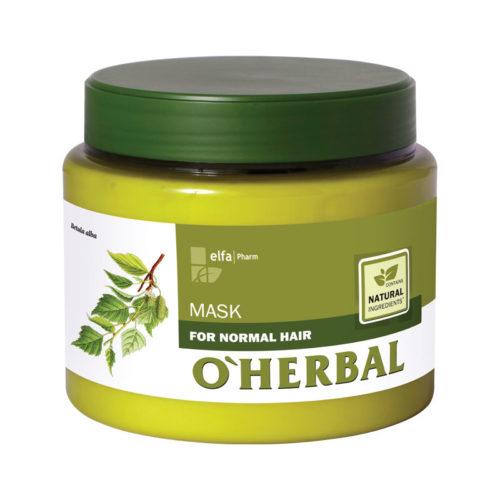 Maschera per Capelli Normali - O'Herbal - 500ml