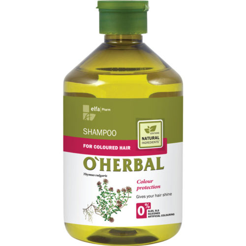Shampoo per Capelli Colorati - O'Herbal - 500ml