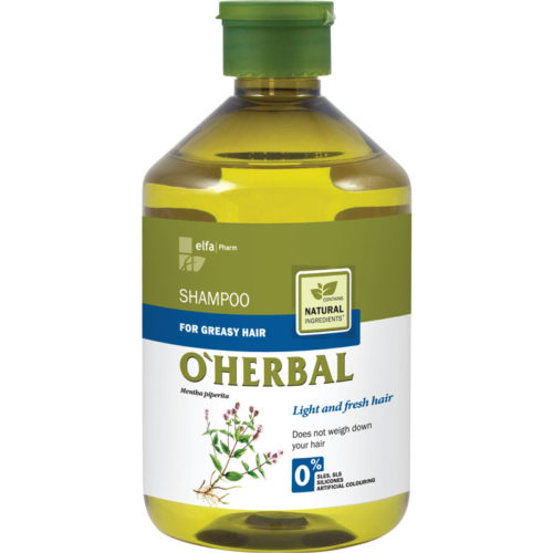 Shampoo per Capelli Grassi - O'Herbal - 500ml