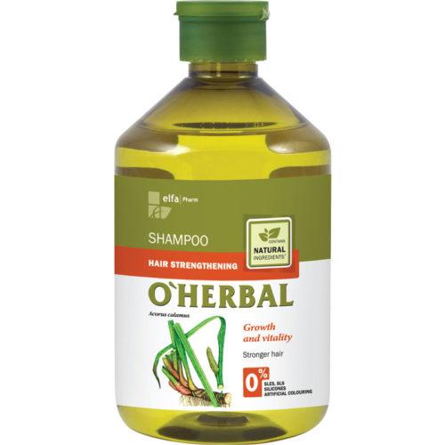 Shampoo Rinforzante per Capelli Indeboliti - O'Herbal - 500ml