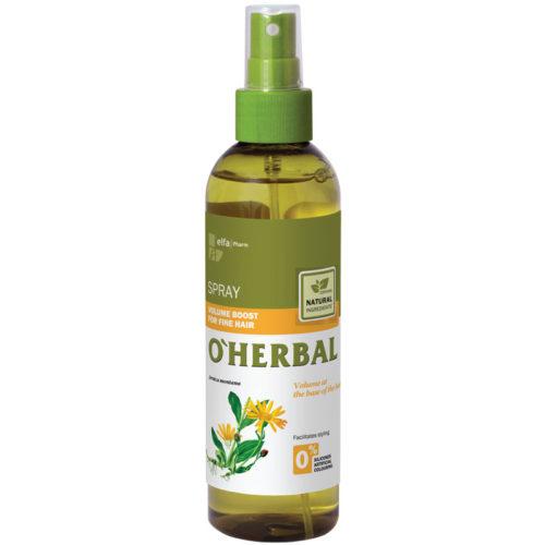 Spray Volumizzante per Capelli Sottili - O'Herbal