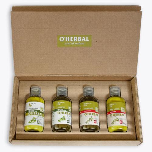 Confezione Regalo Capelli Normali 4 O'Herbal