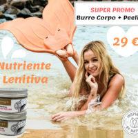 Promo Pre e Dopo Sole Nutriente e Lenitiva