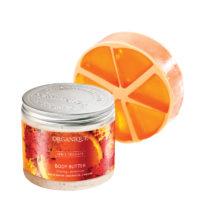 Promozione Arancio e Cannella Burro e Sapone Naturale in Regalo