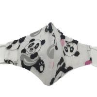 Mascherina Protettiva in Cotone per Bimbo Panda